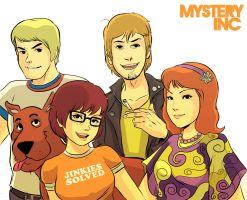 mystery inc. crew by codexnoirmatic