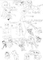 If Total Drama had been Japanese by GirlCrash97