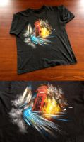 London Riots T-Shirt by i-scene-death