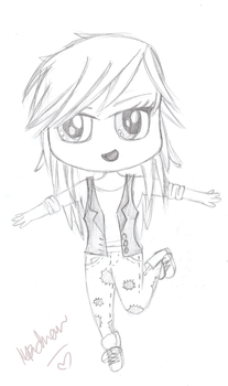 chibi me part 1 by MelodyBunny1
