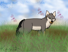 Happy birthday Mitsuki-Wolf. nwn by Karu12