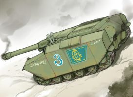 """Yataghan""Tank Destroyer by QU-RO-QURO"