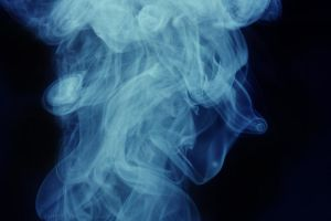 Smoke Person by markaroni