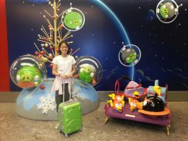 Angry Birds Space in Singapore by MeganLovesAngryBirds