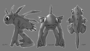 murloc model sheet by waltrex