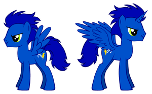 Two sides of MLP Sonic The Hedgehog by Jazmir97