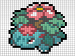 Mega Venasaur ORAS Pattern by MaddogsCreations