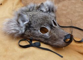 Timber wolf mask 1 by lupagreenwolf