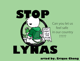 Stop LYNAS by eriquechong97