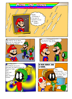 Mario And Friends And The Super Christmas Part 1 by Aso-Designer