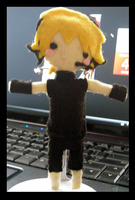 Len Plushie: MAGNET by icemirror