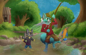 The Tiny Forest (Commission) by R-Star97