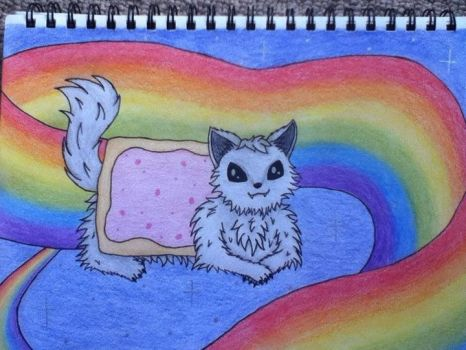 Nyan Cat by NoodleLizard