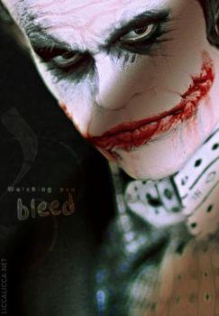 Joker: Watching you bleed by thelocksley