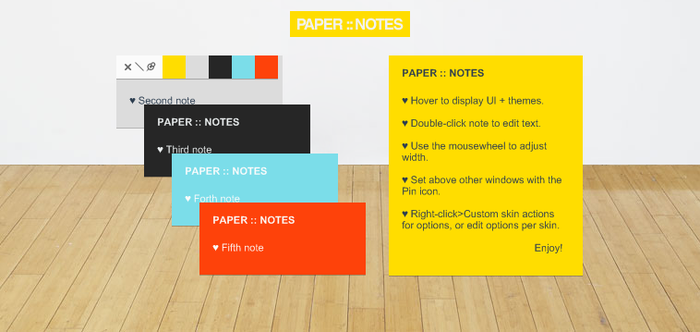 Paper::Notes by Haitime