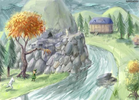 Moomin Concept Art 2 by FabienMater