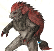 Zoroark by Shendificator