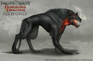 Dog Monster: Hellhound by Conceptopolis