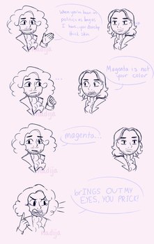 .:hamilton:. YOU PRICK ! by Angry-Green-Pie