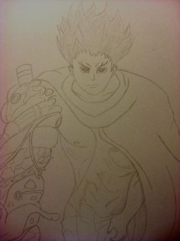 Tetsuo line work by Julian-Marcus