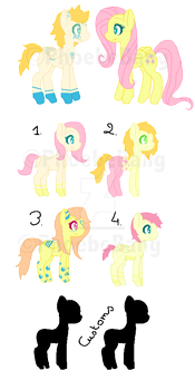 Pony Breed Adopts 1 [CLOSED] by Phoebe-Adopts
