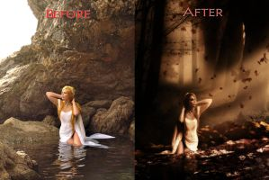 Before After 1 by FP-Digital-Art