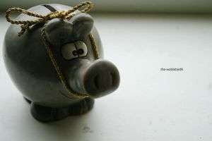 piggy bank pork by the-wabbit