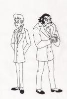 Dr Jekyll and Mr Hyde by 13foxywolf666