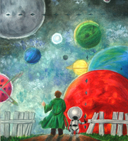 Arthur Dent and the Universe by GeeKy-AfAkAsi-NiNjA
