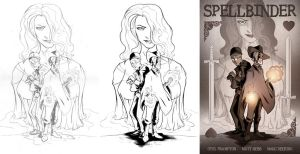 Spellbinder Cover Process by OtisFrampton