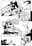 Shattered Collision page 34 ink by shatteredglasscomic