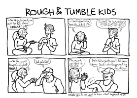 Rough and Tumble Kids by LB-Lee