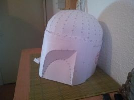 Mandalorian Armor - Step 3 - Side view by acidtaz