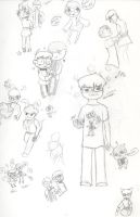 Lovable Nerds by deaththekidfangirl