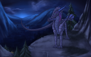 Nighttime by Kityria