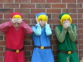 See, Hear, and Speak no Evil by LittleMarin