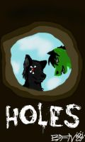 Holes - Spoof Poster by afoxcas