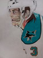 Another Hockey Zombie by XxA-Freak-Like-MexX