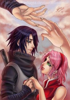 SasuSaku : It's not too late for us... by CameDorea