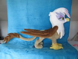 Gilda of Griffonstone Plushie! [SOLD] by Jillah92