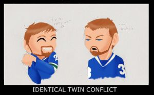 Sedin Twins conflict by GoetheFaust