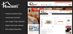 Virtuemart Homewares Template by CmsChanel