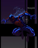Spiderman 2099 colored by spade92