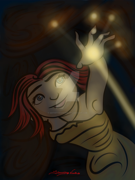 7-14-14 Eep Sees The Light by artinthegarage