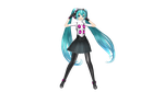 PDX Persona 4 Dancing All Night Miku by MarioKirby64