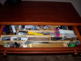 Tool chest 2 - drawer open by VulpineDesignsULTD