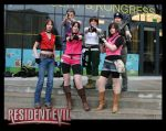 Resident Evil-group at Uppcon by SwedenMikku