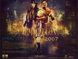 Triple Threat Match for WHC ~ ARMAGEDDON 2007 by MhMd-Batista