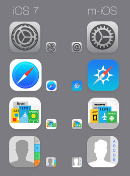How iOS 7 icons should look like by ajozsef