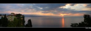 Morning in Opatija by Klek
